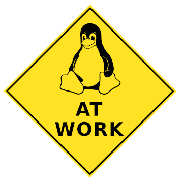 Linux at Work logo